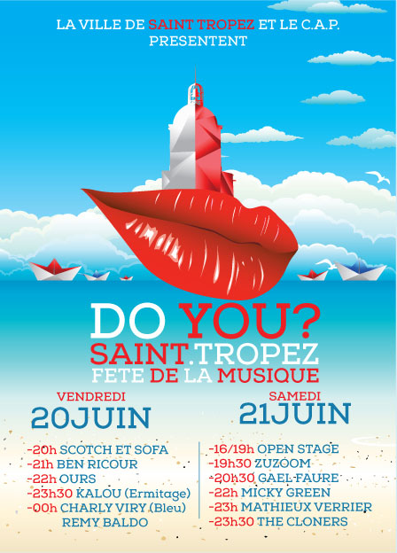 Affiche du premier Festival Do You Saint Tropez