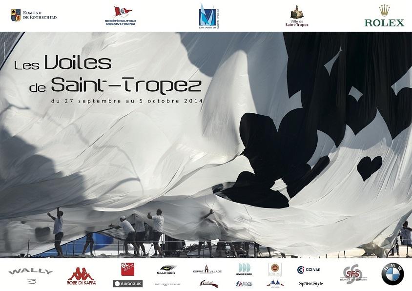 Affiche Les Voiles de Saint-Tropez 2014