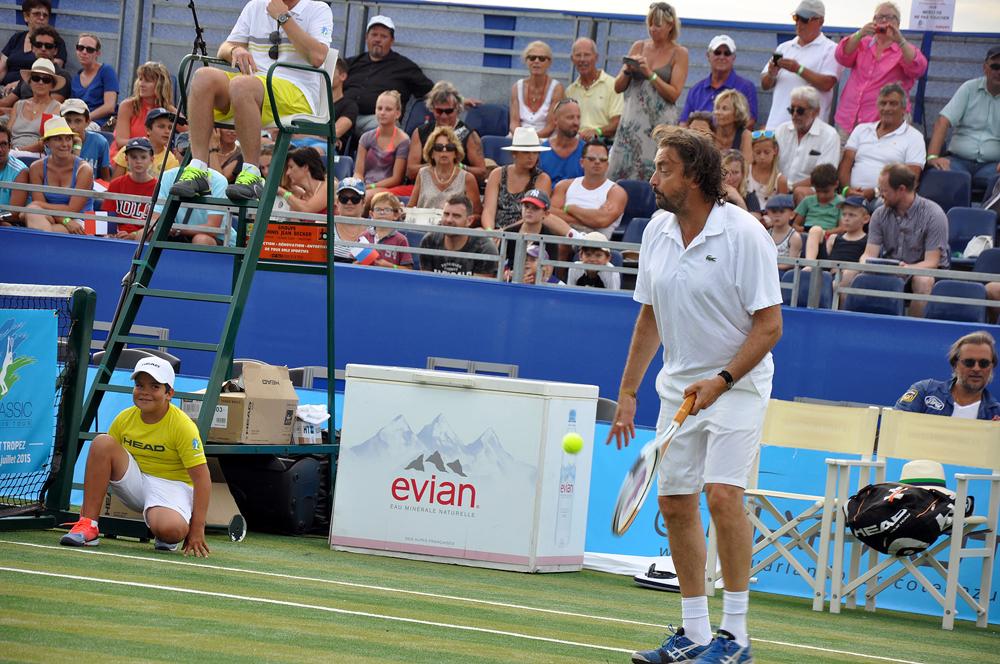 Saint-Tropez Classic Tennis Tour 2015 - Henri Leconte