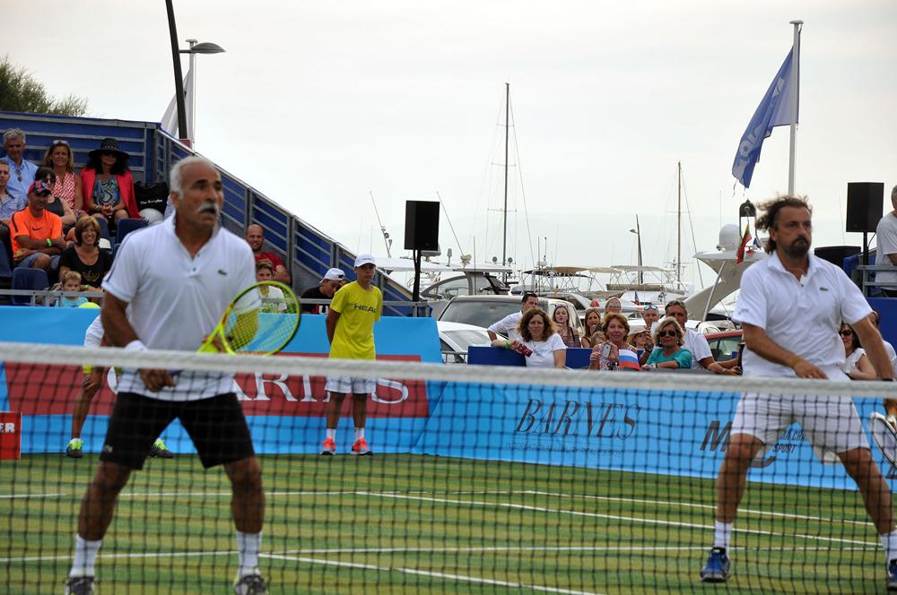 Saint-Tropez Classic Tennis Tour 2015 - Double Henri Leconte & Mansour Bahrami VS Björn Borg & Fabrice Santoro