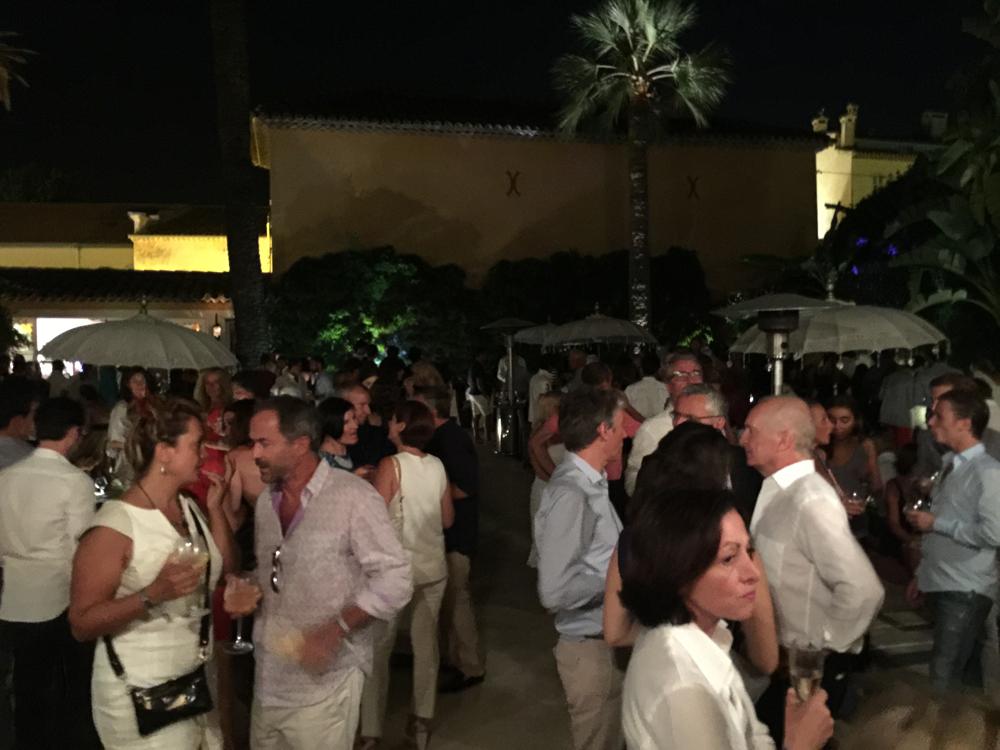 Saint-Tropez Classic Tennis Tour 2015 - Magnifique soirée à l'hôtel Pan Dei Palais