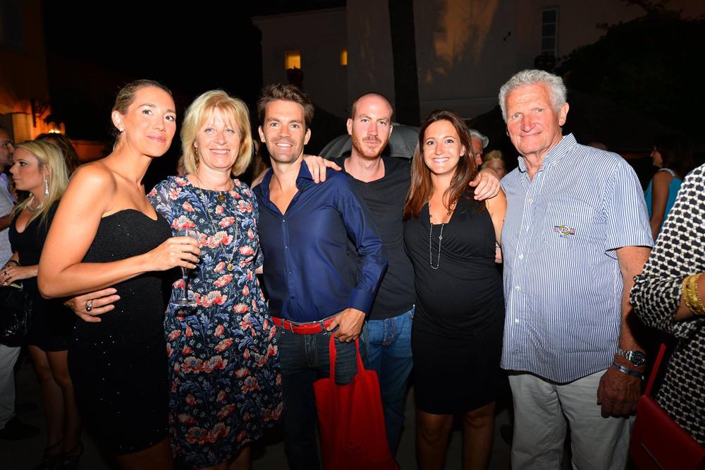 Saint-Tropez Classic Tennis Tour 2015 - Magnifique soirée à l'hôtel Pan Dei Palais avec Brigitte Schaming & André Beaufils (Président de la société Nautique)