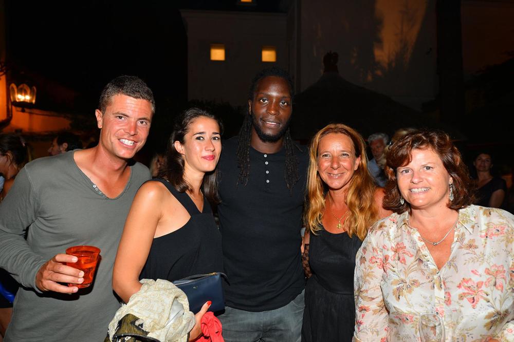 Saint-Tropez Classic Tennis Tour 2015 - Magnifique soirée à l'hôtel Pan Dei Palais avec Ibrahima Diaw