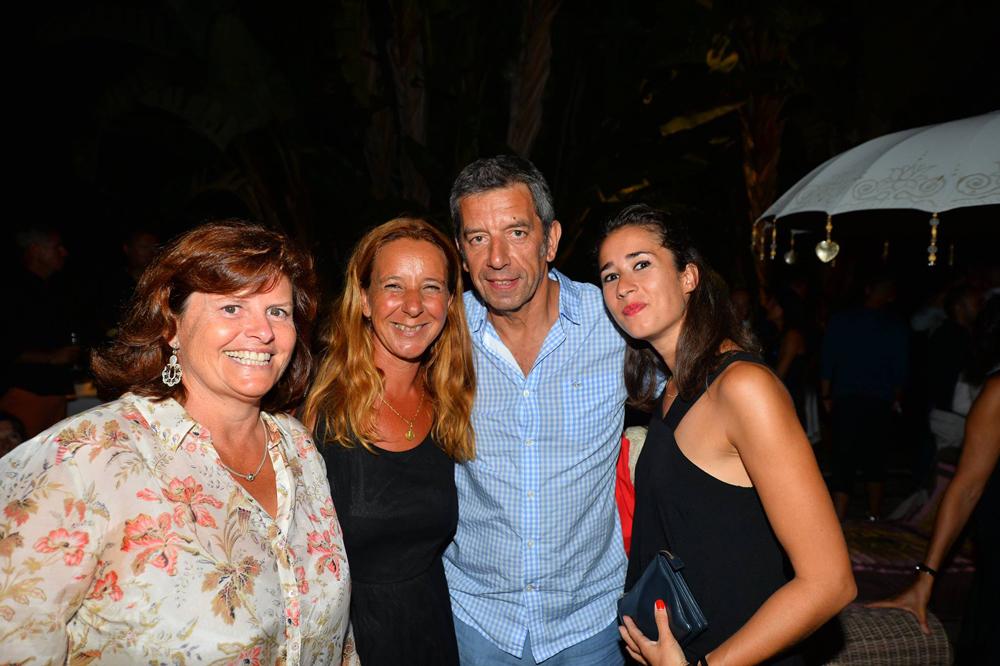 Saint-Tropez Classic Tennis Tour 2015 - Magnifique soirée à l'hôtel Pan Dei Palais avec Michel Cymes