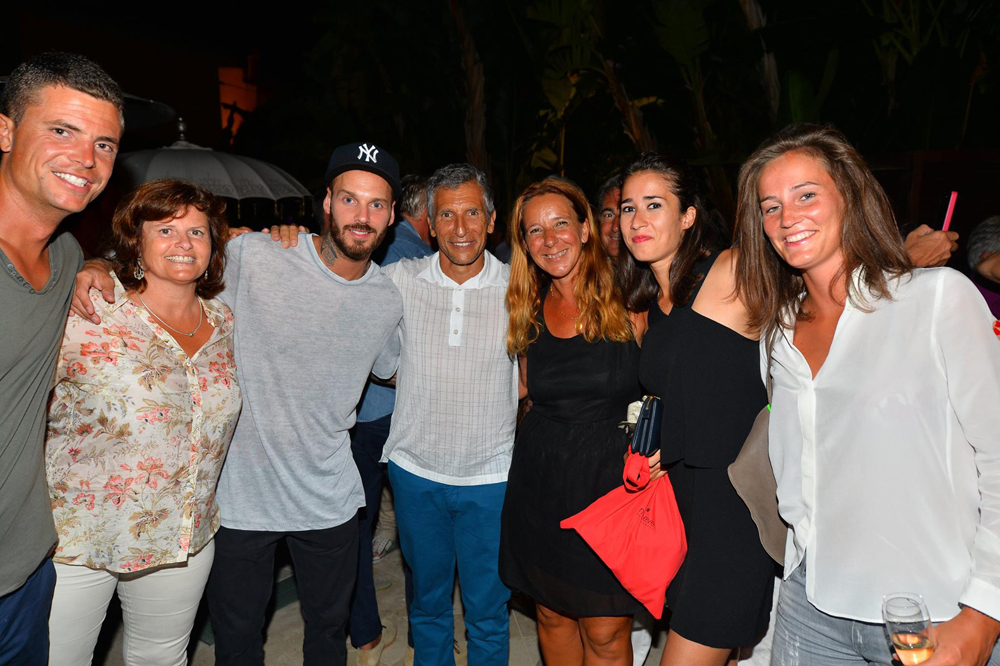 Saint-Tropez Classic Tennis Tour 2015 - Magnifique soirée à l'hôtel Pan Dei Palais avec Mat Pokora & Nagui