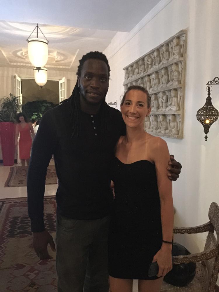 Saint-Tropez Classic Tennis Tour 2015 - Magnifique soirée à l'hôtel Pan Dei Palais avec Ibrahima Diaw & Géraldine Guigues (Noreve)