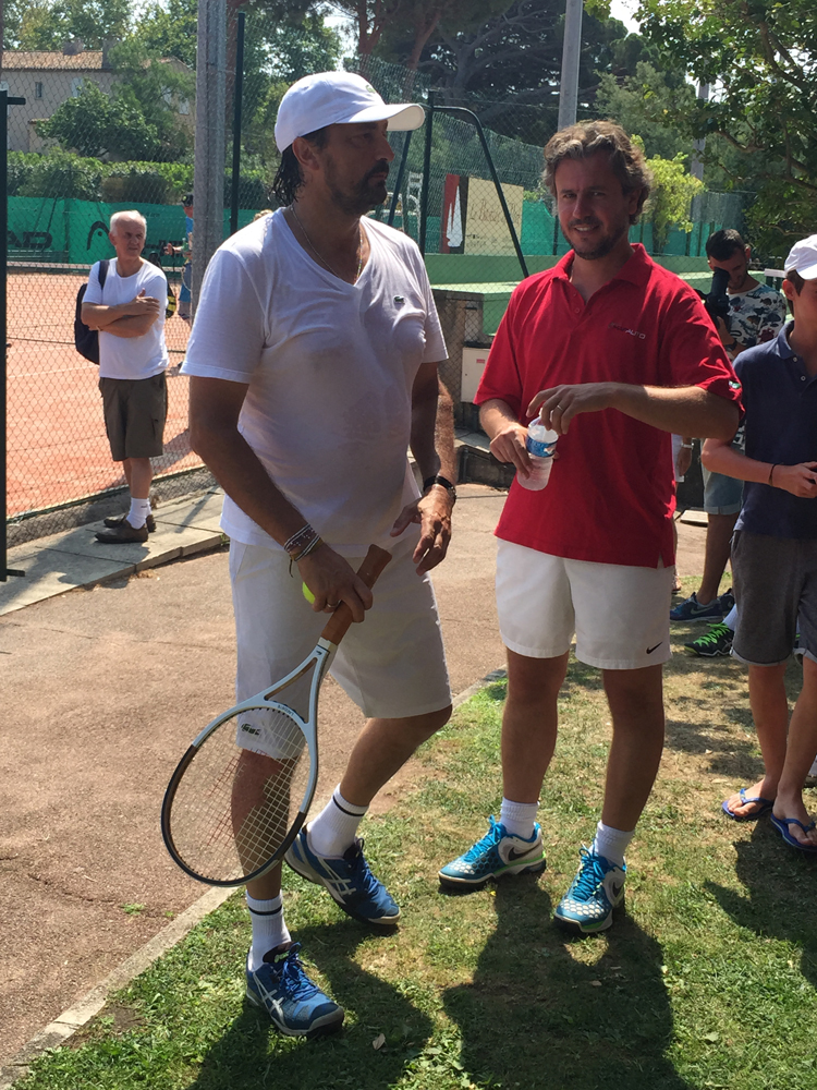 Saint-Tropez Classic Tennis Tour 2015 - Tournoi au Tennis Club de Saint-Tropez avec Henri Leconte