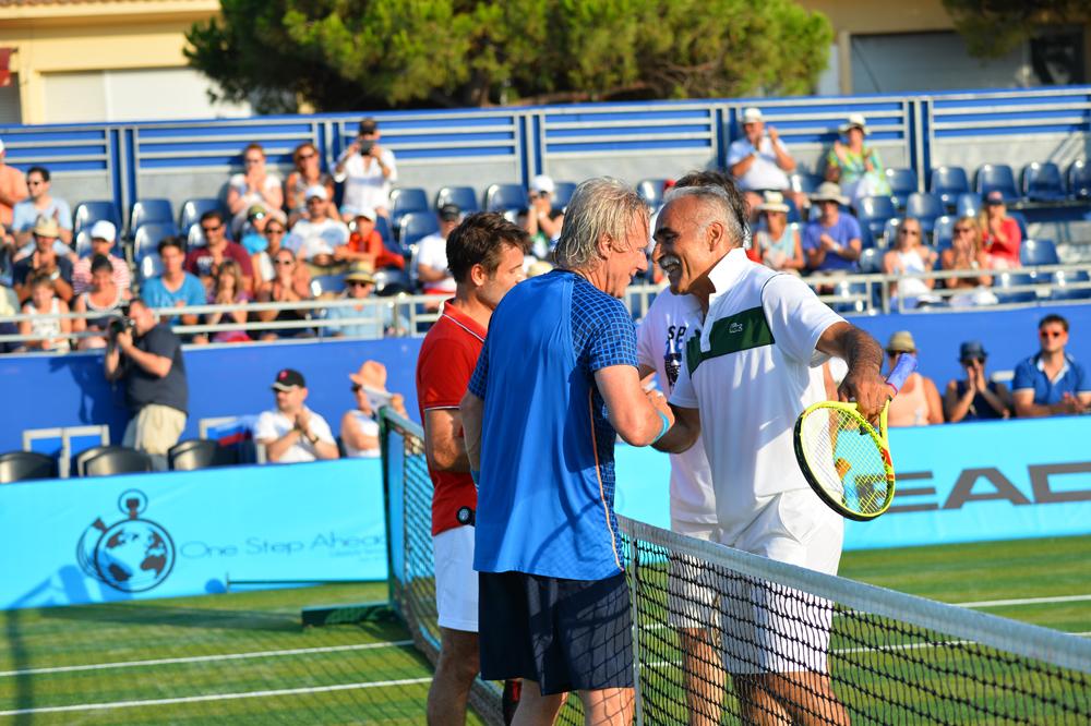 Saint-Tropez Classic Tennis Tour 2015 - Double Björn Borg / Santoro VS Mansour Bahrami / Henri Leconte