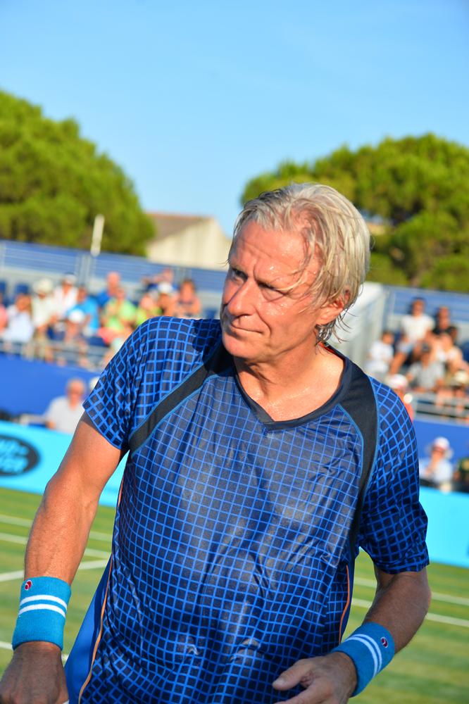 Saint-Tropez Classic Tennis Tour 2015 - La légende Björn Borg