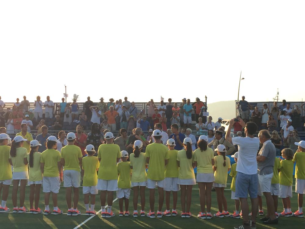 Saint-Tropez Classic Tennis Tour 2015 - Fin de carrière émouvante pour Björn Borg - Standing ovation !