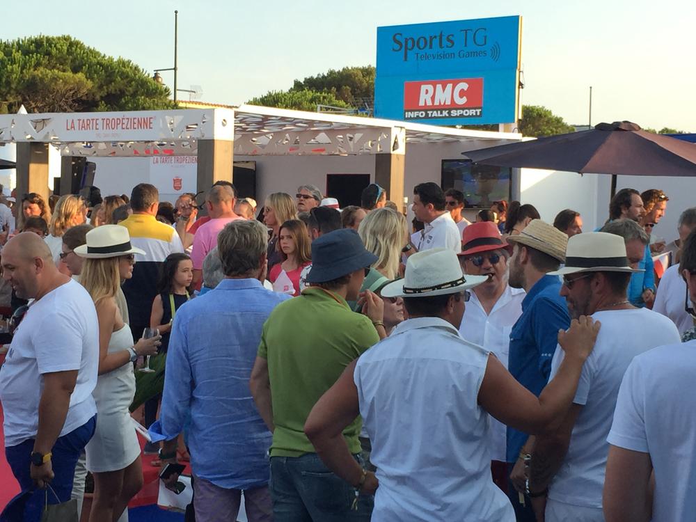 Saint-Tropez Classic Tennis Tour 2015 - Soirée clôture dans le village VIP
