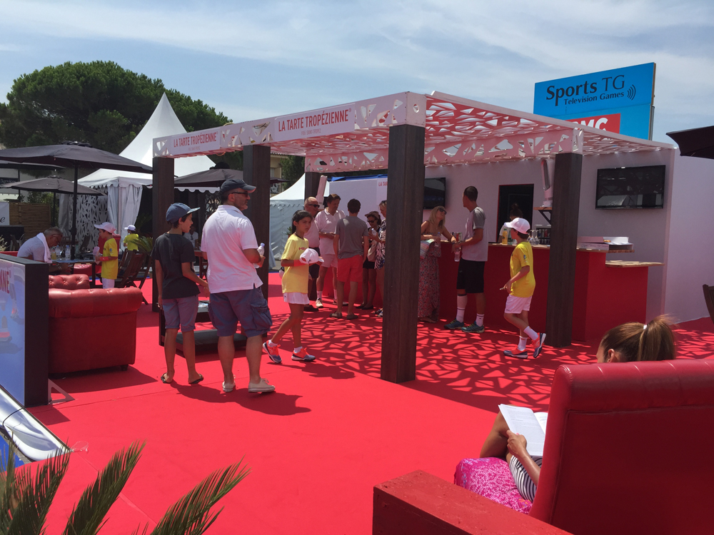 Saint-Tropez Classic Tennis Tour 2015 - Village VIP