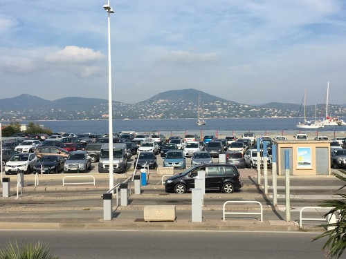 Parking du port - Saint-Tropez 2015