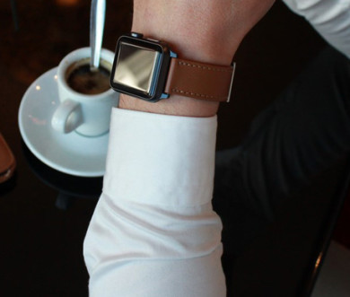 leather bracelets/straps for apple watch