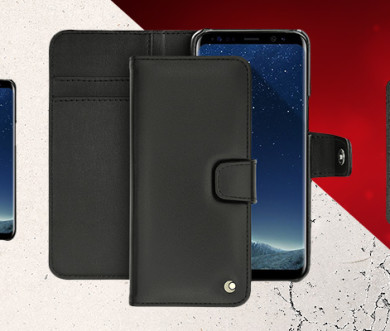 S8, S8+ & S9 premium leather cases
