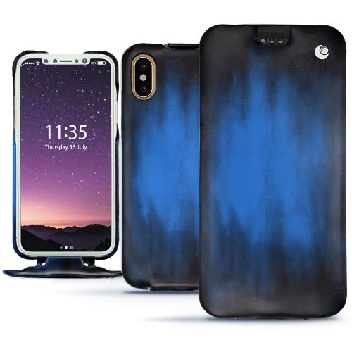Premium iPhone XS cover in Bleu Patine
