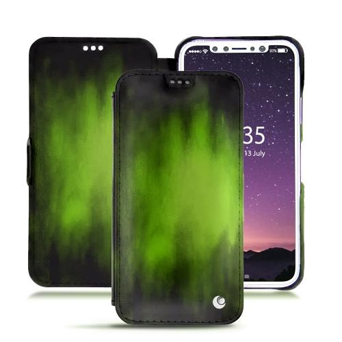 Premium iPhone XS cover in Vert Patine