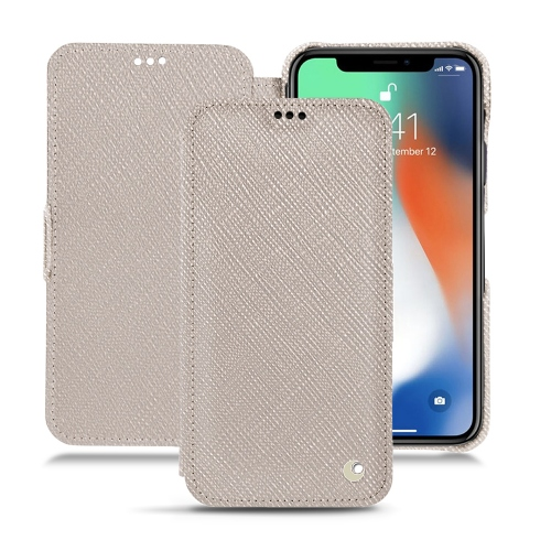 Premium Cases for the iPhone XS max in Taupe innocent