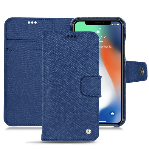 Premium Cases for the iPhone XS max in Bleu frisson