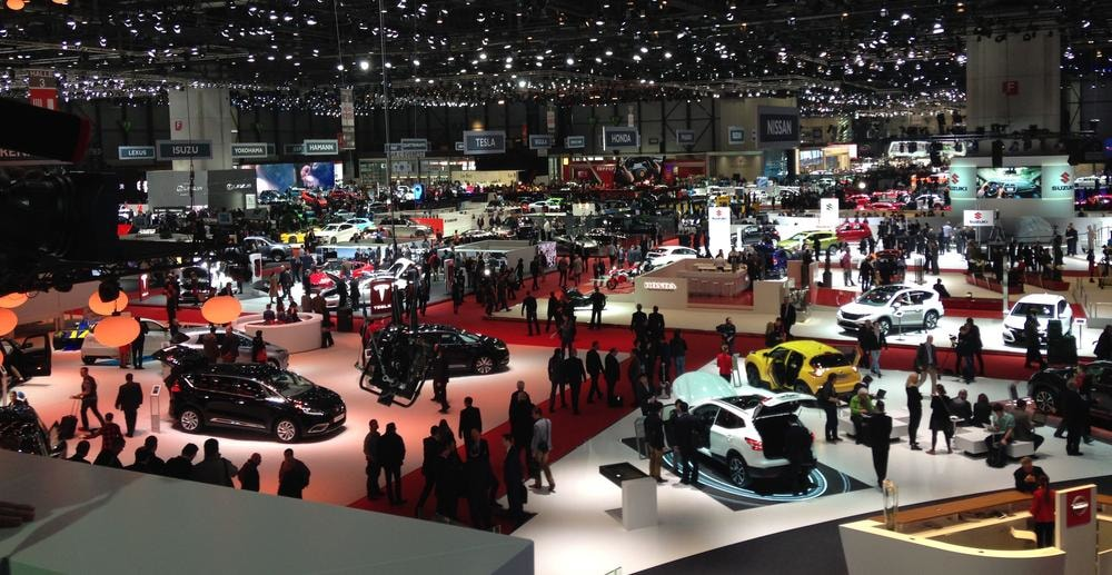Overview of the Mondial de l'Auto 2018
