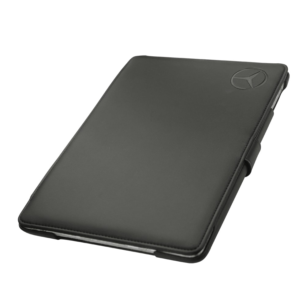 iPad air case designed by Noreve for Mercedes as seen from the Bottom
