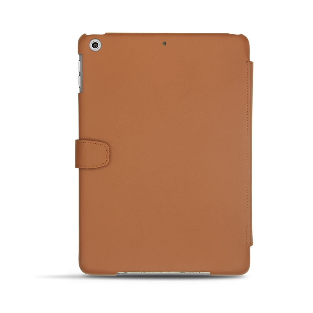 Back view of the ipad case in felt as designed by Noreve